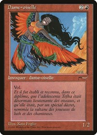 Bird Maiden (French) -