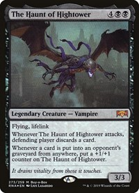 The Haunt of Hightower, Magic: The Gathering, Buy-A-Box Promos