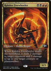 Rakdos Firewheeler, Magic: The Gathering, Open House Promos