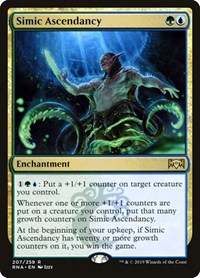 Simic Ascendancy, Magic: The Gathering, Ravnica Allegiance