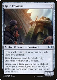 Gate Colossus, Magic: The Gathering, Ravnica Allegiance