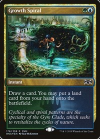 Growth Spiral, Magic, FNM Promos
