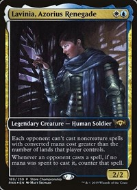 Lavinia, Azorius Renegade, Magic: The Gathering, Game Day & Store Championship Promos