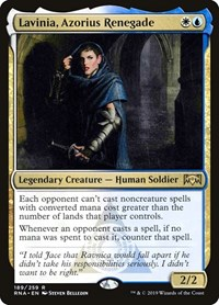 Lavinia, Azorius Renegade, Magic: The Gathering, Ravnica Allegiance