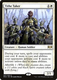 Tithe Taker, Magic: The Gathering, Ravnica Allegiance
