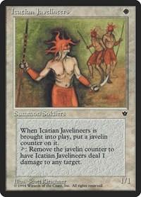 Icatian Javelineers (Kirschner), Magic: The Gathering, Fallen Empires