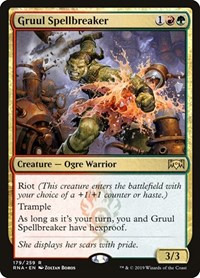 Gruul Spellbreaker, Magic: The Gathering, Ravnica Allegiance