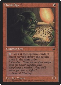 Orcish Spy (Venters), Magic: The Gathering, Fallen Empires