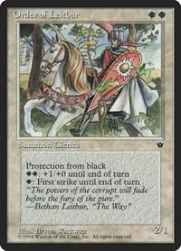 Order of Leitbur (Male), Magic: The Gathering, Fallen Empires