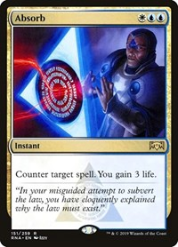 Absorb, Magic: The Gathering, Ravnica Allegiance