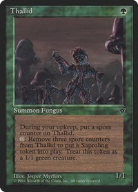 Thallid (Myrfors), Magic: The Gathering, Fallen Empires