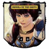 Jhoira of the Ghitu Ultra-Pro MTG Relic Foil Commander Token Legendary Collecti
