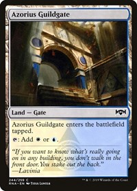 Azorius Guildgate (244), Magic: The Gathering, Ravnica Allegiance