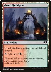 Gruul Guildgate (249), Magic: The Gathering, Ravnica Allegiance