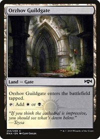 Orzhov Guildgate (253), Magic: The Gathering, Ravnica Allegiance