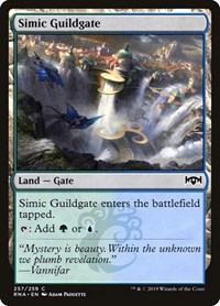 Simic Guildgate (257), Magic: The Gathering, Ravnica Allegiance