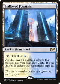 Hallowed Fountain, Magic: The Gathering, Ravnica Allegiance