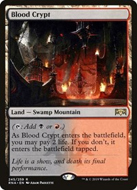 Blood Crypt, Magic: The Gathering, Ravnica Allegiance