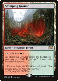 Stomping Ground, Magic: The Gathering, Ravnica Allegiance