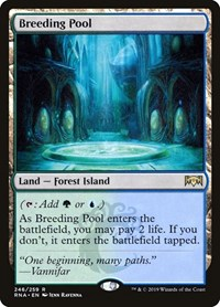 Breeding Pool, Magic: The Gathering, Ravnica Allegiance