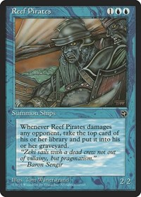 Reef Pirates, Magic: The Gathering, Homelands