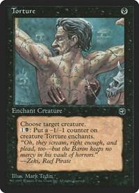 Torture [Version 2], Magic: The Gathering, Homelands