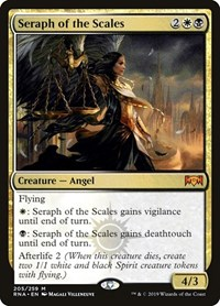 Seraph of the Scales, Magic: The Gathering, Ravnica Allegiance