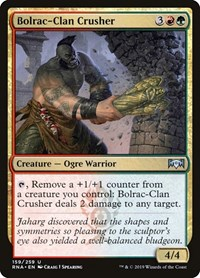 Bolrac-Clan Crusher, Magic: The Gathering, Ravnica Allegiance