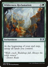 Wilderness Reclamation, Magic: The Gathering, Ravnica Allegiance