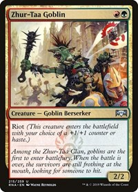 Zhur-Taa Goblin, Magic: The Gathering, Ravnica Allegiance