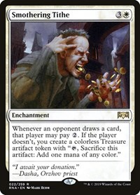 Smothering Tithe, Magic: The Gathering, Ravnica Allegiance