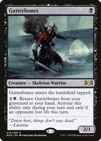 Gutterbones, Magic: The Gathering, Ravnica Allegiance