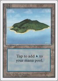 Island (B), Magic, Unlimited Edition