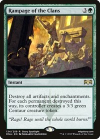 Rampage of the Clans, Magic, Ravnica Allegiance