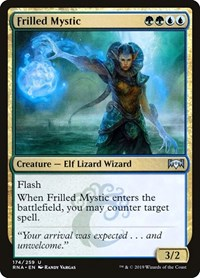 Frilled Mystic, Magic: The Gathering, Ravnica Allegiance