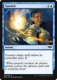 Quench, Magic: The Gathering, Ravnica Allegiance