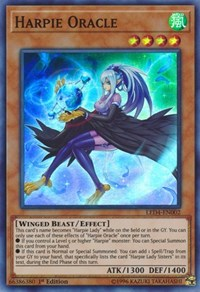 Harpie Oracle, YuGiOh, Legendary Duelists: Sisters of the Rose