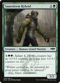 Sauroform Hybrid, Magic: The Gathering, Ravnica Allegiance