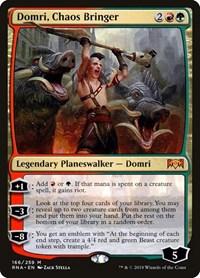 Domri, Chaos Bringer, Magic, Ravnica Allegiance