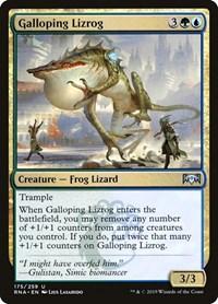 Galloping Lizrog, Magic: The Gathering, Ravnica Allegiance
