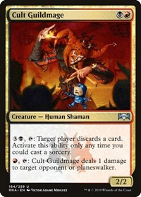 Cult Guildmage, Magic: The Gathering, Ravnica Allegiance