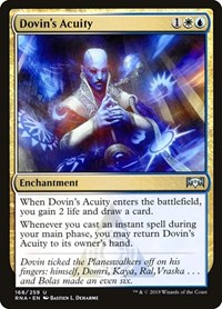 Dovin's Acuity, Magic: The Gathering, Ravnica Allegiance