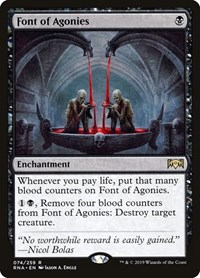 Font of Agonies, Magic: The Gathering, Ravnica Allegiance