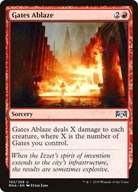 Gates Ablaze, Magic: The Gathering, Ravnica Allegiance