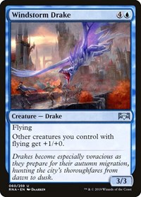 Windstorm Drake, Magic: The Gathering, Ravnica Allegiance