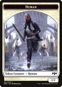 Human Token, Magic: The Gathering, Ravnica Allegiance