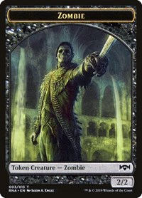 Zombie Token, Magic: The Gathering, Ravnica Allegiance