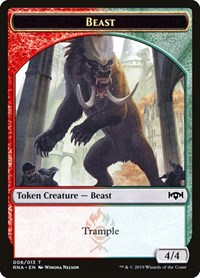 Beast Token, Magic: The Gathering, Ravnica Allegiance