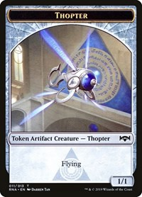 Thopter Token, Magic: The Gathering, Ravnica Allegiance