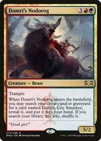 Domri's Nodorog, Magic, Ravnica Allegiance